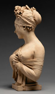 Bust of Juliette Récamier - Terracotta Getty Search Gateway Museum Carpeaux, Art Sculpture, Getty Museum, Oeuvre D'art, Art History, Sculpting, Art Drawings, Art Deco, Fine Art