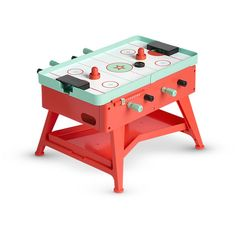 Dolls will love hosting a lively night in with a multi-game table for dolls featuring foosball, ping pong and air hockey games for friends to team up and compete together! Fun Camp Games, Bar Games, Table Games, Easter Outdoor Games, Outdoor Games Adults, Star Wars Party Games, Kids Party Games, Air Hockey Games, Multi Game Table