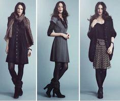 Noa-Noa Kleider aus der Classic-Winterkollektion 2012 (Quelle: noanoa.com)