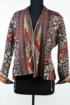 Joanna Johns - Purple Kantha Jacket