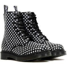 dr. martens PASCAL polka dot boot R13660002