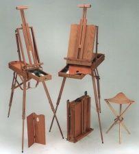 Mini caballete con espiga oculta los mini caballetes personalizados a medida pinterest - Pintores de muebles ...