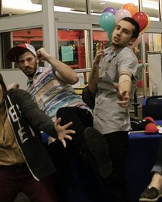Is that a bra behind Tyler?