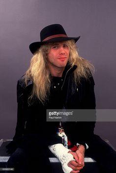 Steven Adler of Guns And Roses at the UIC Pavillion in Chicago, Illinois, August 21, 1987 .
