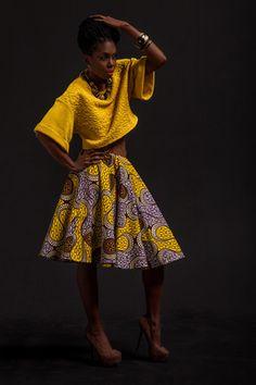 Yellow Mariama Skirt