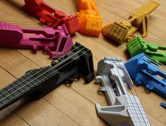Nuke: 3D Printable Electric Ukulele
