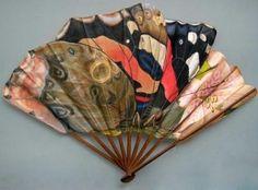 A creative folding fan.