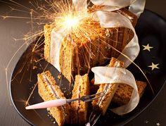 Pain d'épices au foie gras et magret