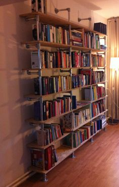 DIY Bookshelf  Perfect for new library room