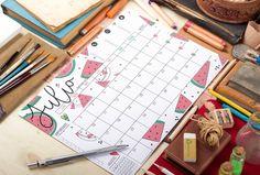 Calendarios de Julio – TheLoveatc