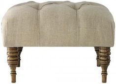 Custom Fenmore Upholstered Ottoman - Furniture - Living Room - Ottomans - Seating - Benches | HomeDecorators.com