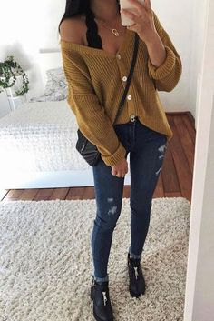 31 Cute Fall Styles For Women Winter Fashion 2019 Kpop Outfits, Curvy Outfits, Mode Outfits, Jean Outfits, Sweater Outfits, Classy Outfits, Stylish Outfits, Beautiful Outfits, Fashion Outfits
