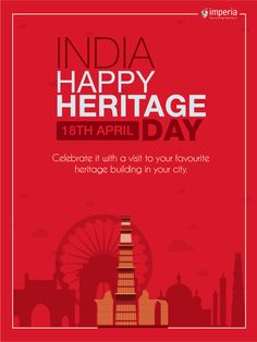 Celebrate it with a visit to your favourite heritage building in your city Happy Heritage Day India