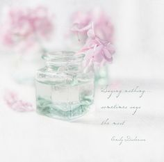 Petites fleurs by Beverly @ Lavender Bleu... so pure, so delicate, a beauty!