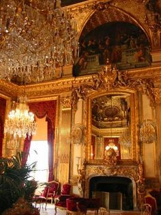 Napoleon's Apartments at the Louvre