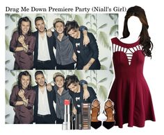 """""""Drag me down premiere party (Niall's Girl)"""" by mallory-fashion ❤ liked on Polyvore"""