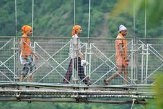Puente Rishkesh, India.