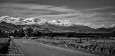 Taken on Wiltons Road, Wairarapa. Looking towards the Tararua ranges.