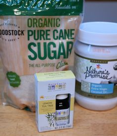 DIY Holiday Gift: Make Your Own Organic Body Scrub!
