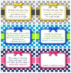 This site has lots of gift basket ideas....with fun printable tags too!
