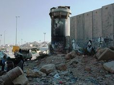 Qalandia Check Point, Palestine