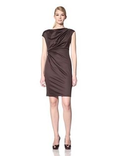 Lafayette 148 New York Women's Draped Dress (Java) - get it while it last!