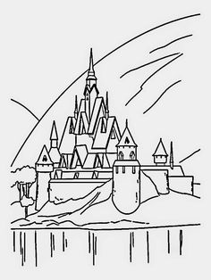 adultcoloringpagesfreetoprint Disney Castle Free