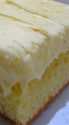 Orange Cake (Amish Style)