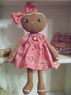 Gingerbread Dollie Valentine  Ginger
