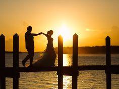 Sunset Wedding #floridakeysphotographer #floridaphotographer #keywestphotographer #keywestweddings #beachwedding