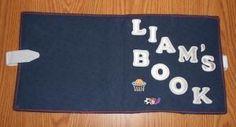 liam's quiet book