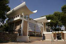the Marguerite and Aime Maeght Foundation, Saint-Paul de Vence, by Josep luis Sert