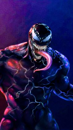 Venom Venom Spiderman, Black Spiderman, Marvel Venom, Spiderman Art, Amazing Spiderman, Venom Comics, Marvel Comics Art, Marvel Heroes, Venom 2018