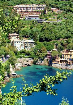 Portofino, Italy. Been twice. Wouldn't mind living her for a bit