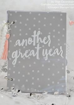 "Hello and Happy New Year!  Today I am finally sharing with you an alternative idea for the December 2016 Paper Pumpkin kit ""Another Great Ye..."