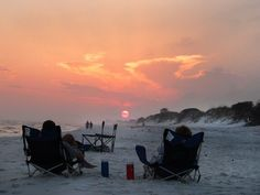 10 of the best coastal camping spots. The Crew at Our Boat House shares their 10 favorite coastal camping locations perfect for your Summer vacation. Florida Camping, California Camping, Beach Camping, Florida Vacation, Florida Travel, Vacation Places, Florida Beaches, Outdoor Camping, Camping Chairs