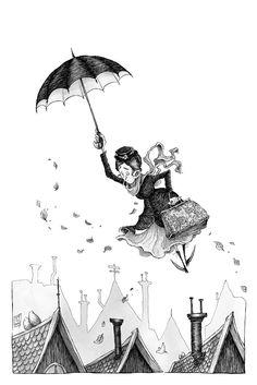 Mary Poppins by Ripplen.deviantart.com on @deviantART