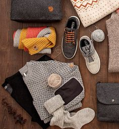 Natural wool keeps you warm and is an ecological way to look beautiful Adidas Sneakers, That Look, Villa, Socks, Warm, Natural, Clothing, Sweaters, Outdoor