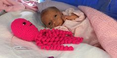 People Are Crocheting Adorable Octopuses to Help Premature Babies - Article has links to pattern - great idea for MJ's Memory Boxes for Premies in NICU