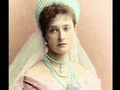 Tsaritsa Alexandra. The coloured history. - YouTube