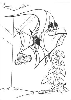 finding nemo: nemo's day off: catherine daly, joey chou ... - Crush Finding Nemo Coloring Pages