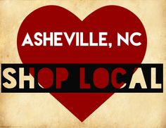 Shop Local for the Holidays: Asheville, NC #Asheville #shoplocal