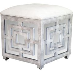 Ottoman and storage box at the same time.