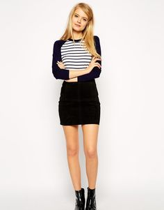 I've picked it out in black, too – that's how much I'm in love with this skirt.