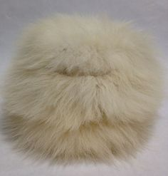 Rock a vintage fur hat and everyone will know you mean business.  Climate change business.
