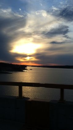 Lake of the Ozarks. I took this picture from the toll bridge of Sunrise Beach, MO