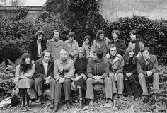 Roland Barthes. Ecole Pratique des Hautes Etudes, Paris, 1975 (Daniel Boudinet) Roland Barthes, Portrait, Concert, Drawings, 1975, Writers, Paris, Color Photography, Centenarian