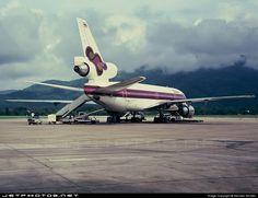 Thai International, Thai Airways, Commercial Aircraft, Wide Body, Photo Online, Spacecraft, Transportation, Aviation, Exterior