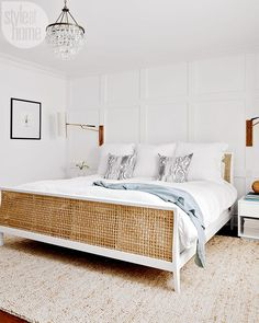 Vintage Bedroom white bedroom bed frame simple bedroom design master bedroom nighslee memory foam mattress buy a mattress in box Master Bedroom Design, Home Decor Bedroom, Modern Bedroom, Bedroom Furniture, Bedroom Bed, Bedroom Ideas, Bed Room, Master Suite, Bedroom Headboards