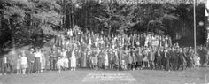 Vancouver Engineering Works Annual Picnic - Bowen Island, Aug. 10th - 1918 - City of Vancouver Archives